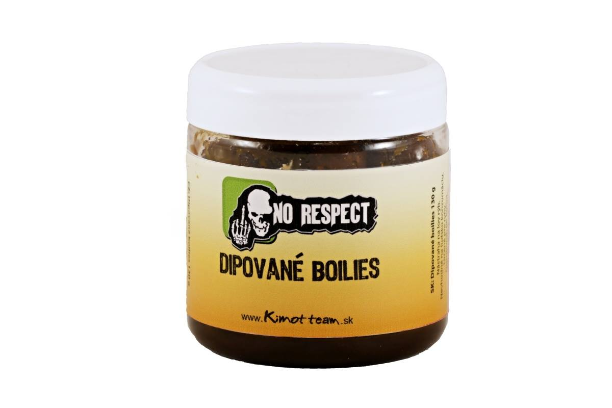 No Respect Dipované boilies Speedy Maple crab 150g