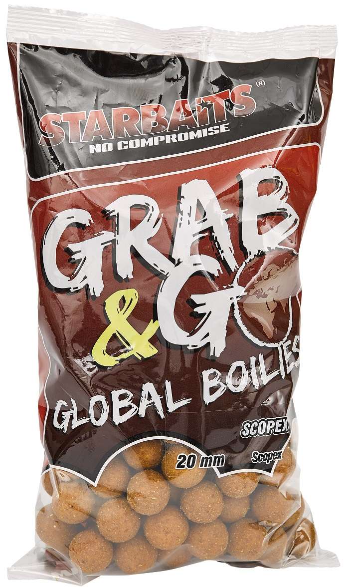 Starbaits Grab & Go Global boilies SCOPEX 20mm 1kg