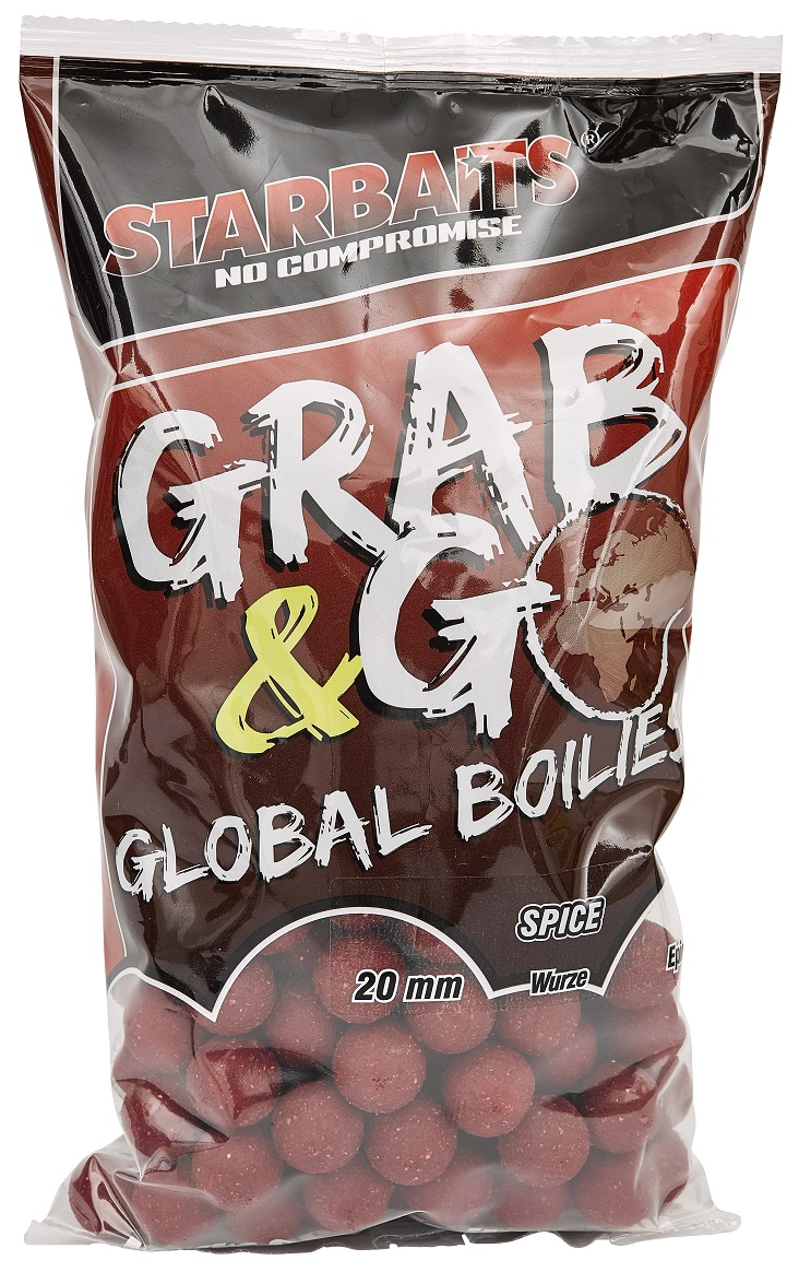 Starbaits Grab & Go Global boilies SPICE 20mm 1kg
