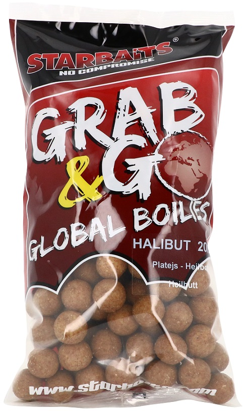 Starbaits Grab & Go Global Boilies HALIBUT 20mm 1kg