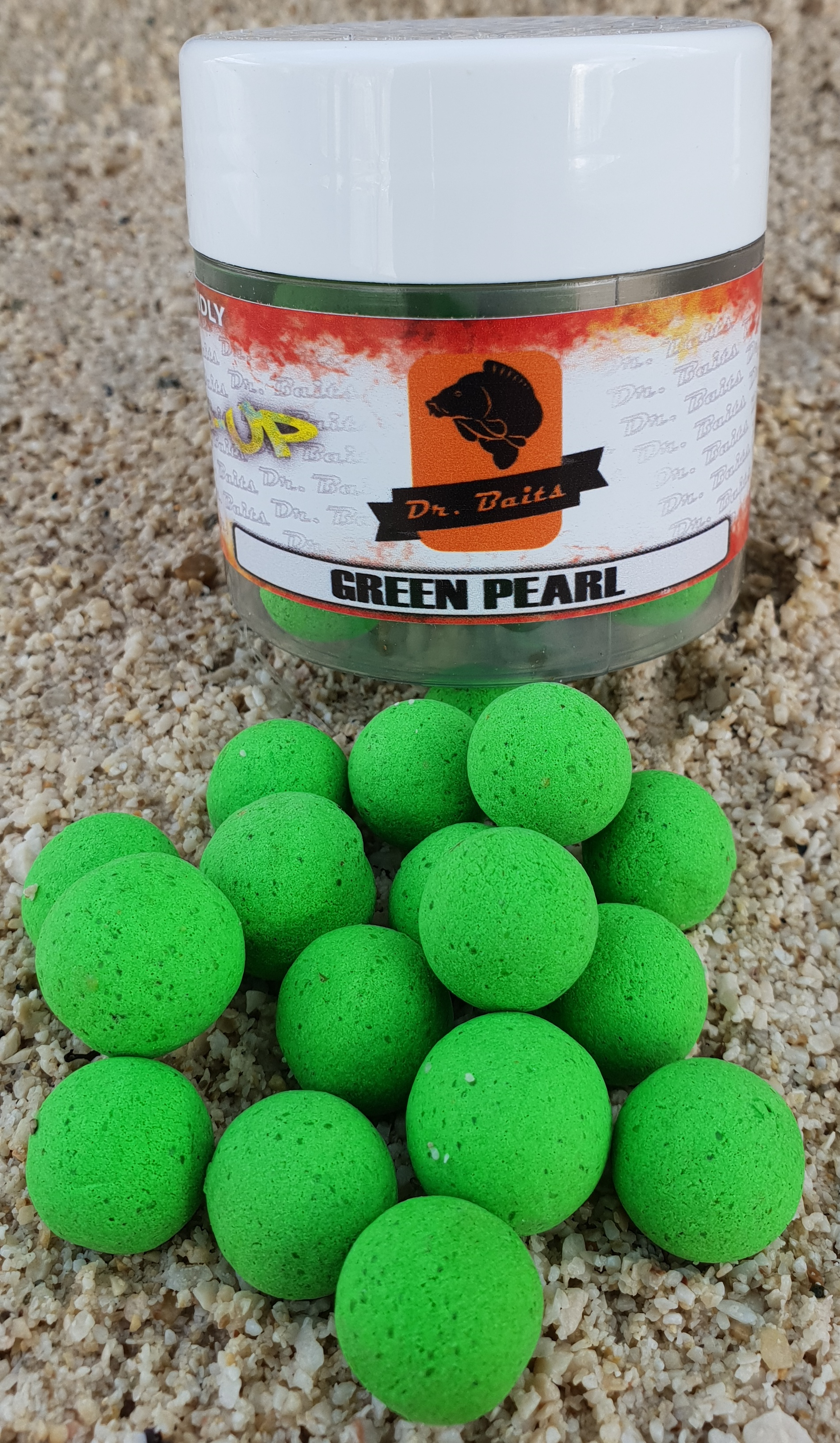 Dr.Baits Green pearl Pop Up 50g 16-14mm