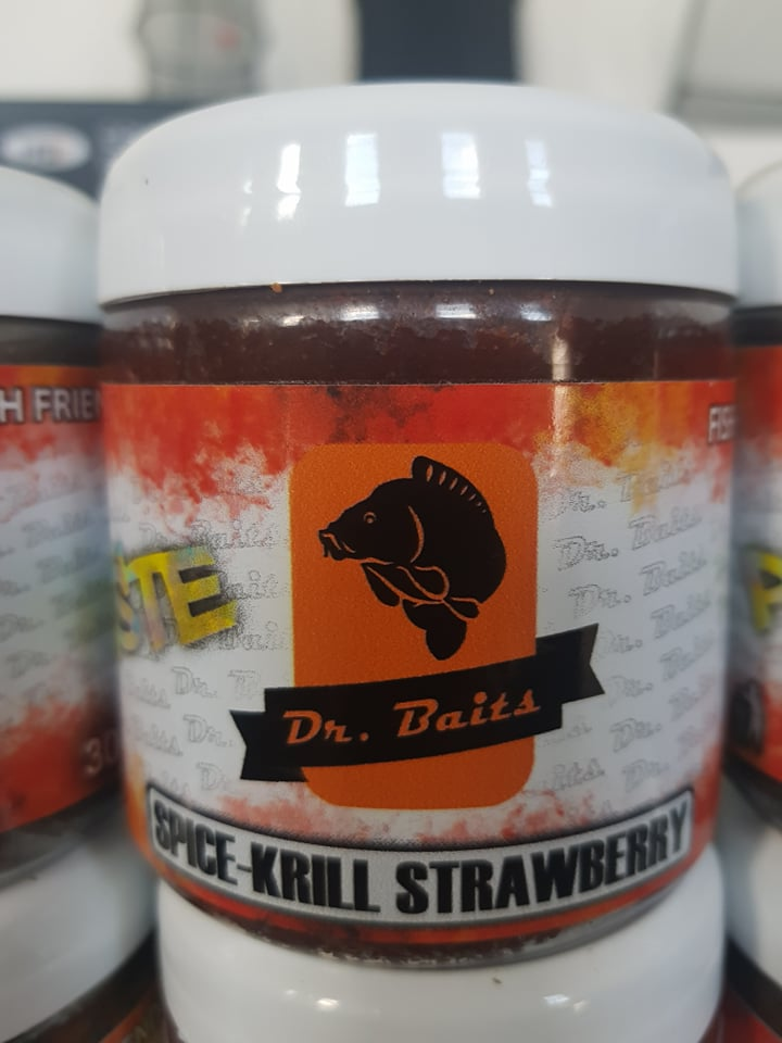 Dr.Baits Spice krill strawberry PASTA 150g