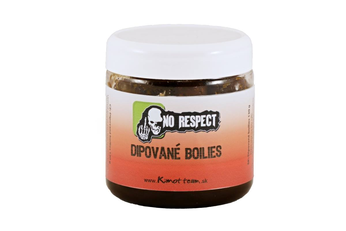 No Respect Dipované boilies RR B1(Chilli-Plum) 150g