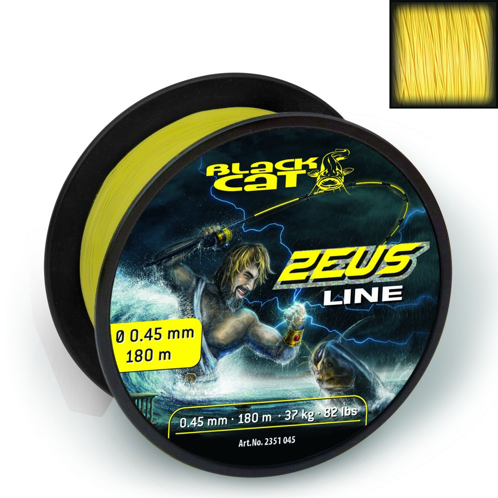 Black Cat Zeus Line 180m,0,45mm, 37kg