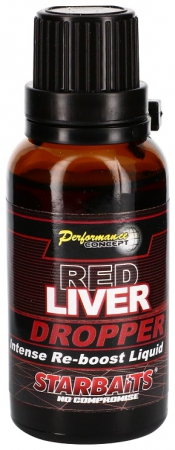Starbaits Red Liver Dropper 30ml